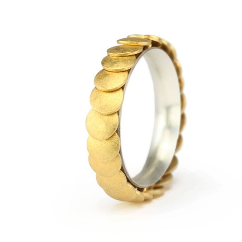 Ring ARMADILLO - Gold, 5mm