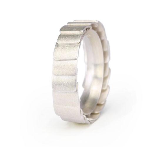 Ring ARMADILLO - Silver, 5,5mm