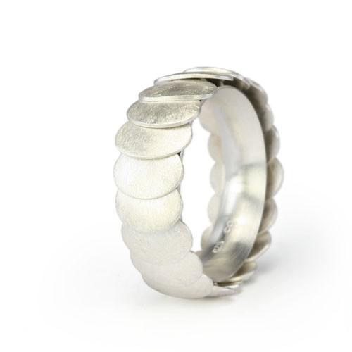 Ring ARMADILLO - Silver, 10mm