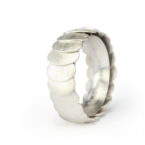 Ring ARMADILLO - Silver, 10mm