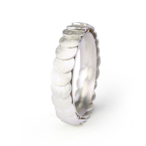 Ring ARMADILLO - Silver, 5mm