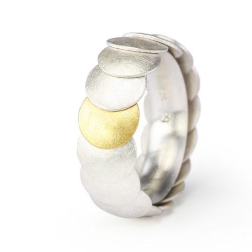 Ring ARMADILLO 8 mm bicolor