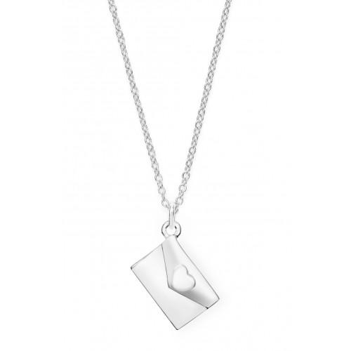 Halskette Liebesbrief - 925 Sterlingsilber