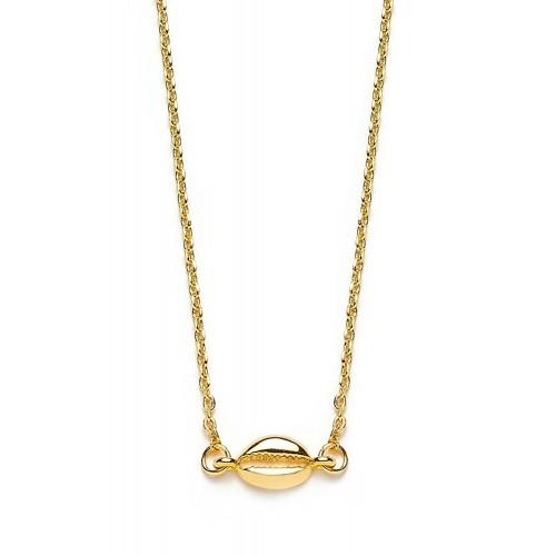 Muschel-Halskette Mini Kauri
