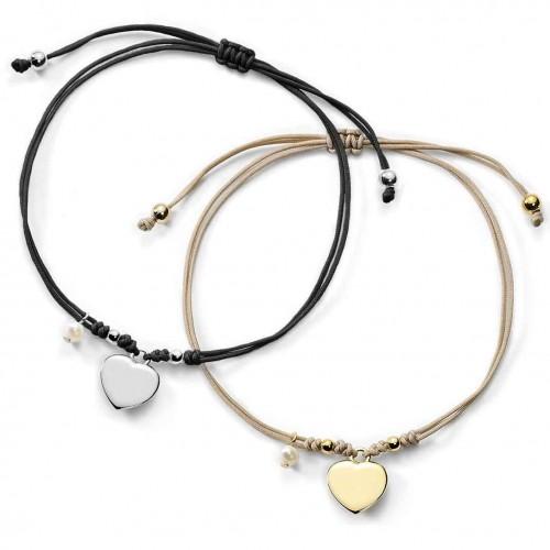 Muttertagsgeschenk-Set - Herz-Armbänder mit Gravur