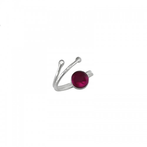 Offener Ring  mit Cabochon