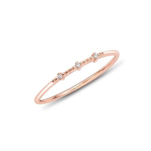 Ring Delicate mit Zirkonia - 925 Sterlingsilber