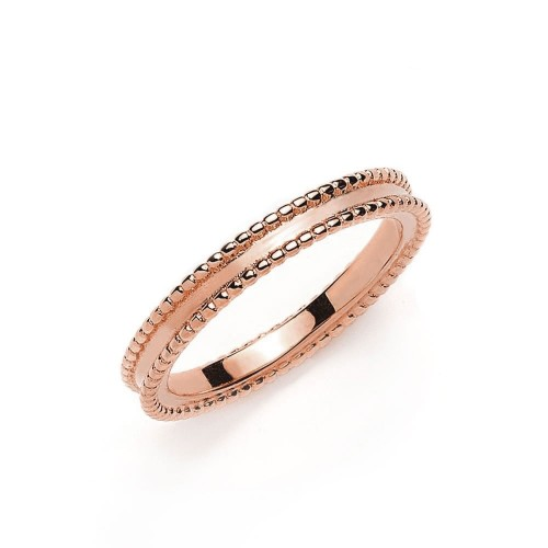 Ring Double Line - 925 Sterlingsilber