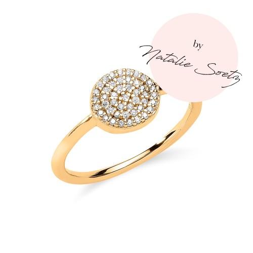 Ring Glamour mit Zirkonia by Natalie Soetz - 925 Sterlingsilber