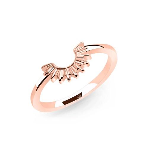 Ring Halbsonne - 925 Sterlingsilber