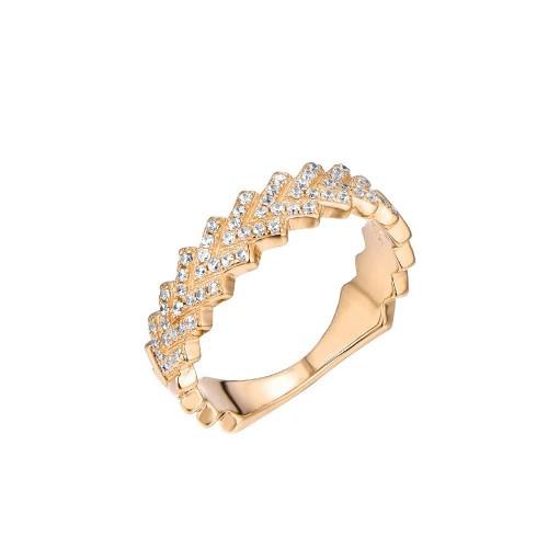 Ring Frosted - 925 Sterlingsilber