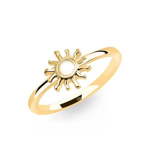 Ring Sonne - 925 Sterlingsilber