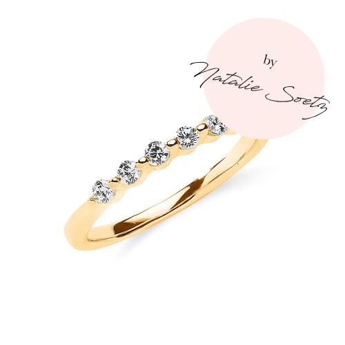 Ring mit Zirkonia by Natalie Soetz - 925 Sterlingsilber
