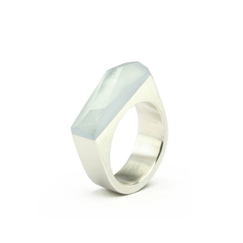 Ring CRYSTAL_blue_L