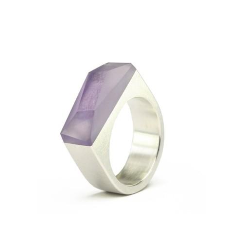 Ring CRYSTAL_violet_L