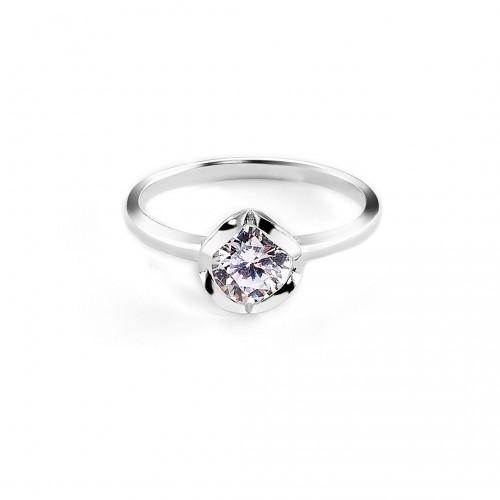 """Ring """"Diamond Heart"""" - 925 Sterlingsilber"""