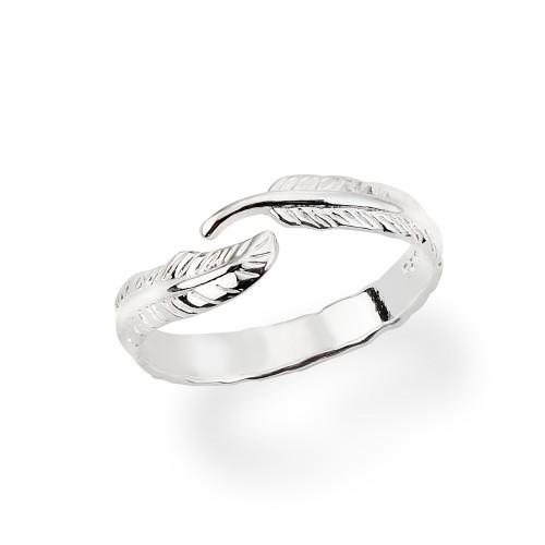 Ring Feder - 925 Sterlingsilber