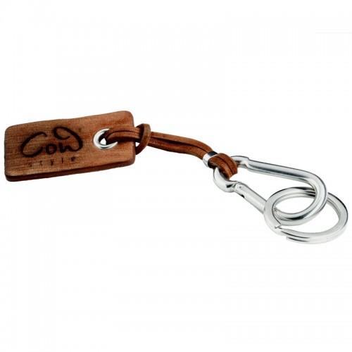 Schlüsselanhänger Santa Fe braun