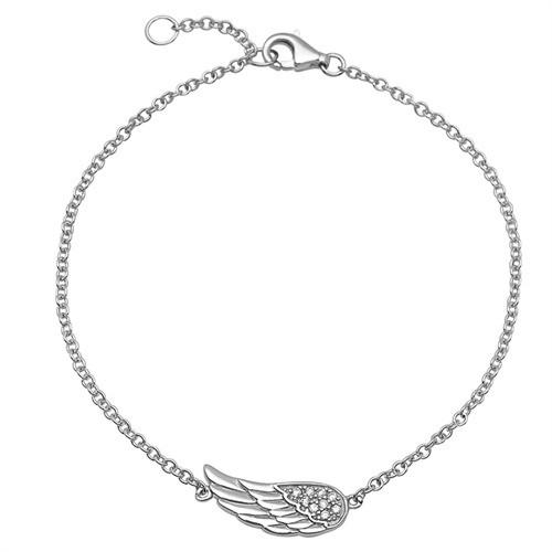 Engelsflügel-Armband 925er Sterlingsilber