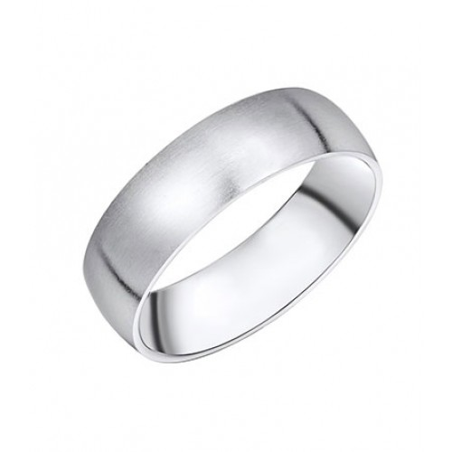 Ring Steel Silber