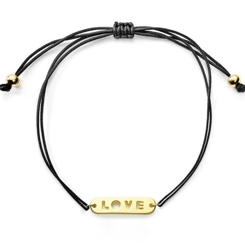 Love-Armband aus Stoff