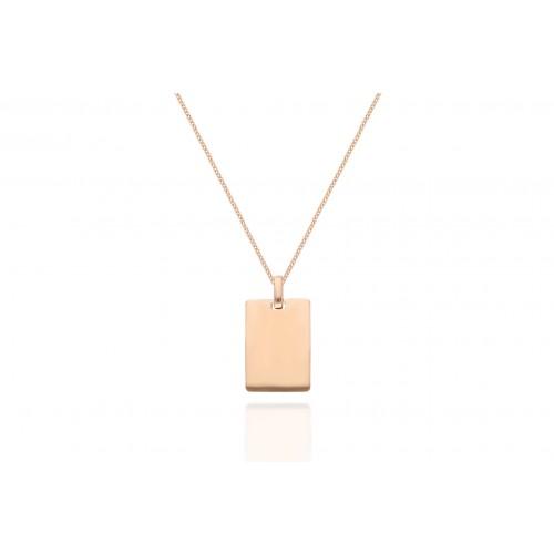 Tag Necklace - Pour Toi Necklace