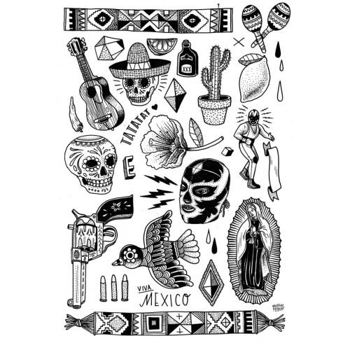Martin Krusche's Mexiko Set