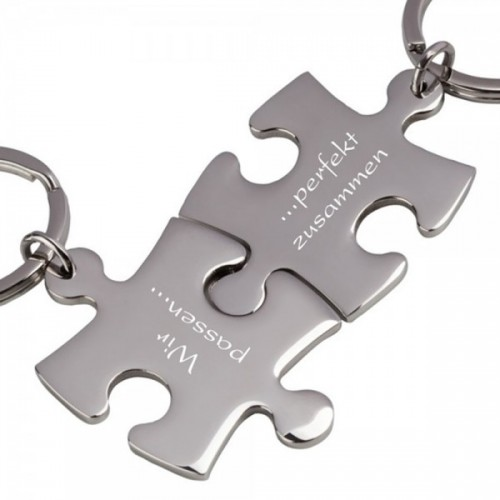 Partner-Schlüsselanhänger Puzzle