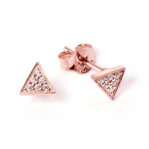"Ohrstecker ""Tasmanic Triangle"" - 925 Sterlingsilber"