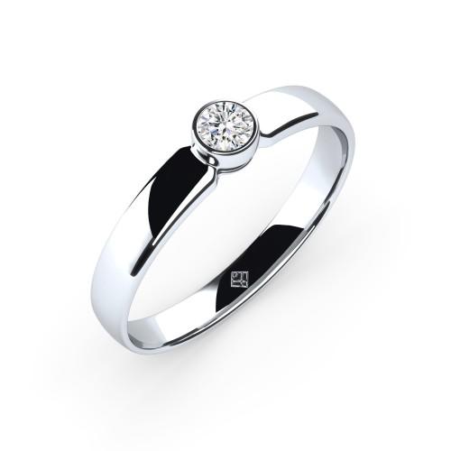 """Verlobungsring """"Simple Diamond"""""""
