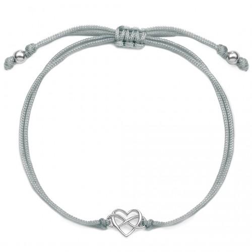 Muttertagsgeschenk - Herzarmband mit Infinity  Heartlove