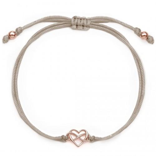 Herzarmband mit Infinity  Heartlove
