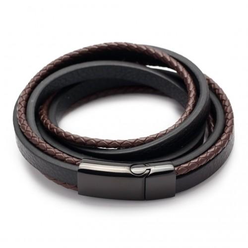 Leder- Wickelarmband