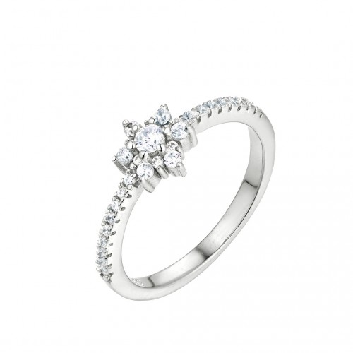 "Ring ""Flower"" - 925 Sterlingsilber"