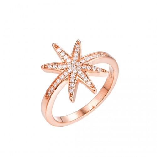 Ring Polarstern - 925 Sterlingsilber