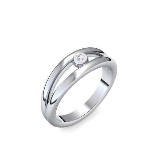 Verlobungsring Glamourise - Sterlingsilber mit Zirkonia