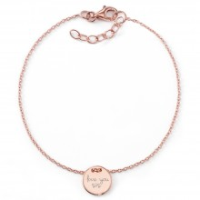 "Schwestern-Armband ""Love you sis"" 