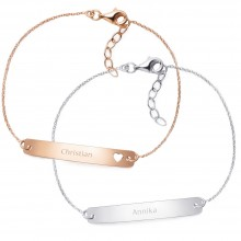 "Partnerarmbänder ""For Two"" 