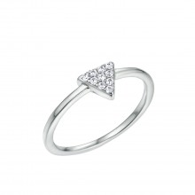 "Ring ""Triangle"" - 925 Sterlingsilber"
