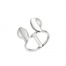 "Ring ""double Ring"" - 925 Sterlingsilber"