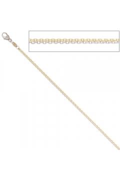 Ankerkette 45 cm Gold Kette Halskette Karabiner
