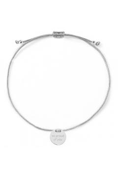 "Armband ""so proud of you"" mit Rückseitengravur - 925 Sterlingsilber"