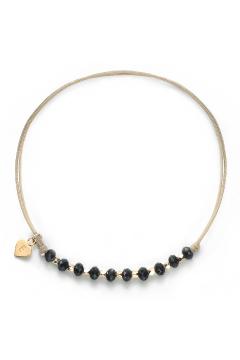 Herz-Armband mit Perlen Glamour  - 925 Sterlingsilber