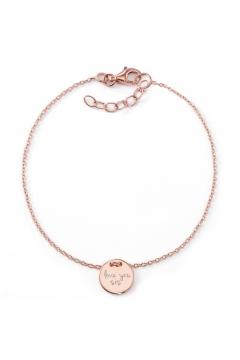 "Schwestern-Armband ""Love you sis"" | 925 Sterlingsilber"