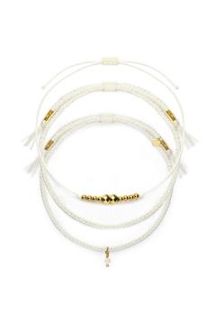 "Armband-Set ""Golden Mini Pearl"""