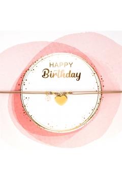 Armbandkarte Happy Birthday