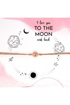 Armbandkarte To the Moon and Back