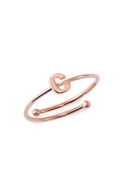 """Ring mit Buchstabe """"C"""" - 925 Sterlingsilber"""