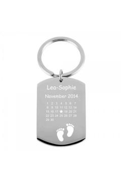 Schlüsselanhänger Kalender Geburt