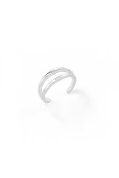 Earcuff Parallel | einzeln - 925 Sterlingsilber
